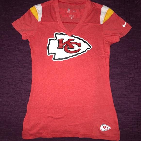 save off ceebf 44734 NIKE Kansas City Chiefs Women T-Shirt 🏈